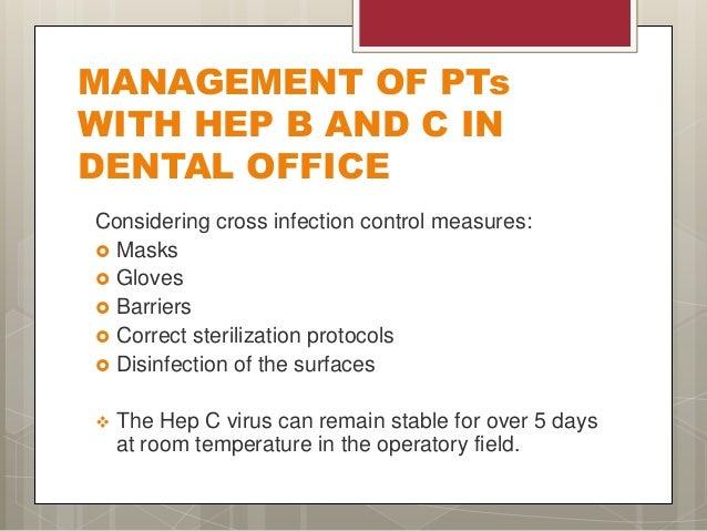 Hepatitis In Dental Practice