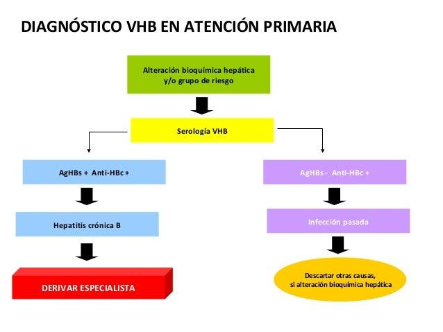 Hepatitis b en atencion primaria