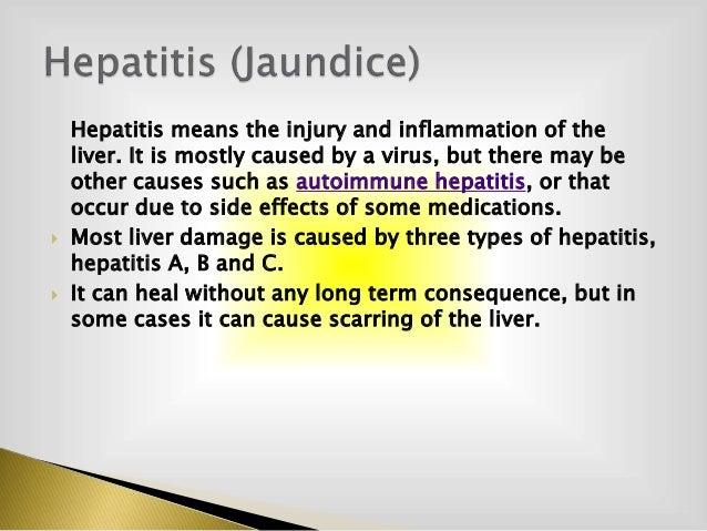 Hepatitis Jaundice