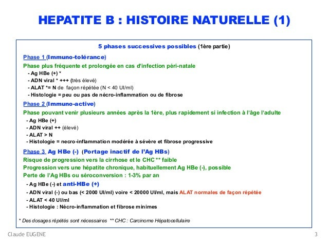 HEPATITE B : TRAITEMENT (tenofovir, entecavir, interféron...) Slide 3