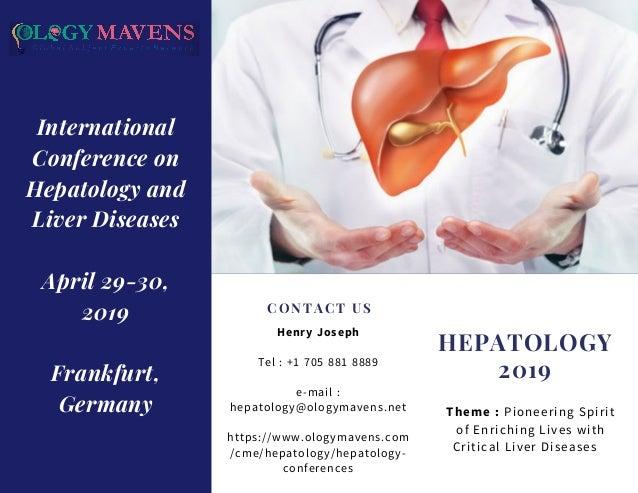 Hepatology Conferences 2019 | Liver Conferences 2019