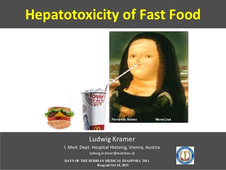 Hepatotoxicity of Fast Food                             Fernando Botero       Mona Lisa                  Ludwig Kramer    ...