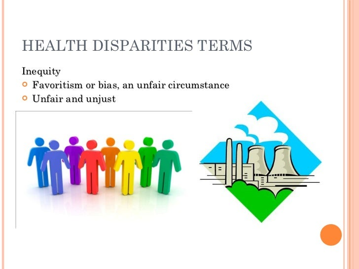 an introduction to disparities in health and health care The sources of racial and ethnic health care disparities include differences in  geography,  disparities in health care are unacceptable and supports policies  that.