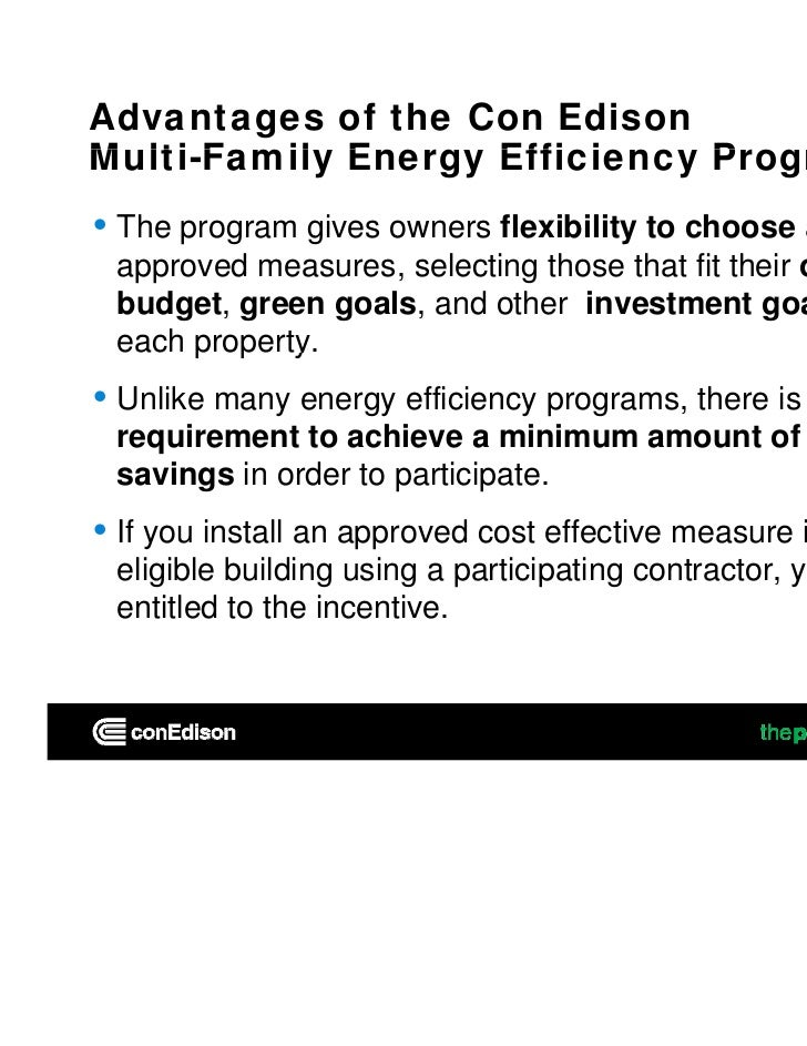 Multifamily Energy Retrofit-Saving Money and Getting your