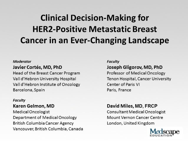 Her2 positive metastatic breast ca