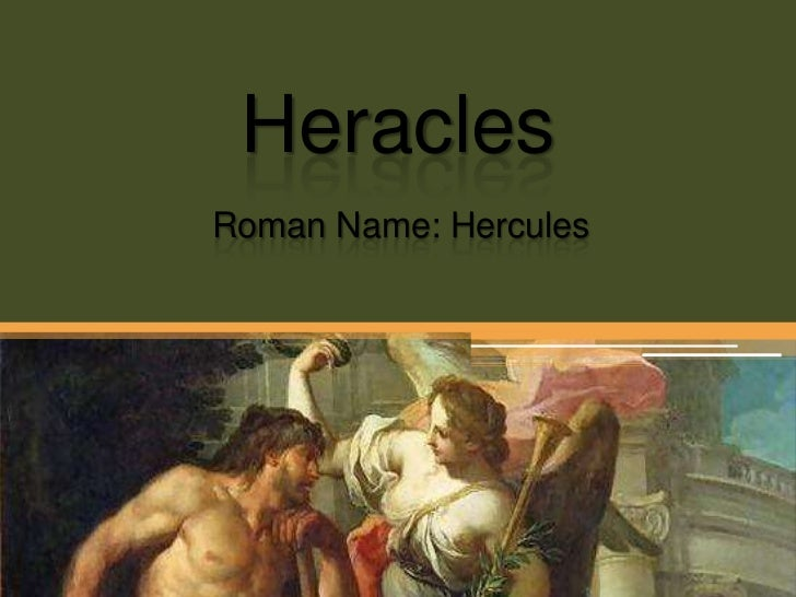 Heracles<br />Roman Name: Hercules<br />