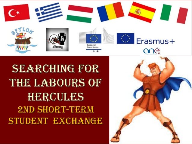 searching for the labours of hercules 2nd Short-term student exchange