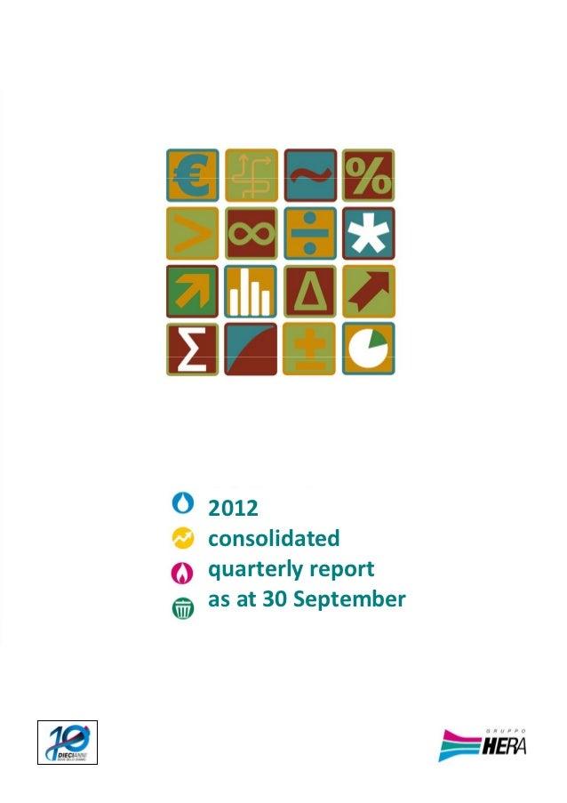 BOZ      2012      consolidated      quarterlyreport      asat30September