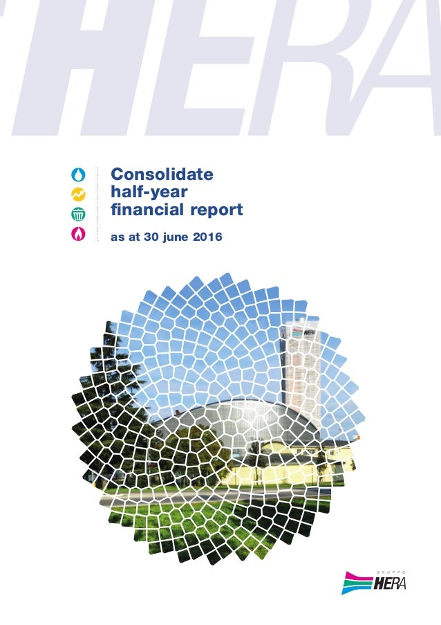 Hera group-Consolidate half-year financial report as at 30