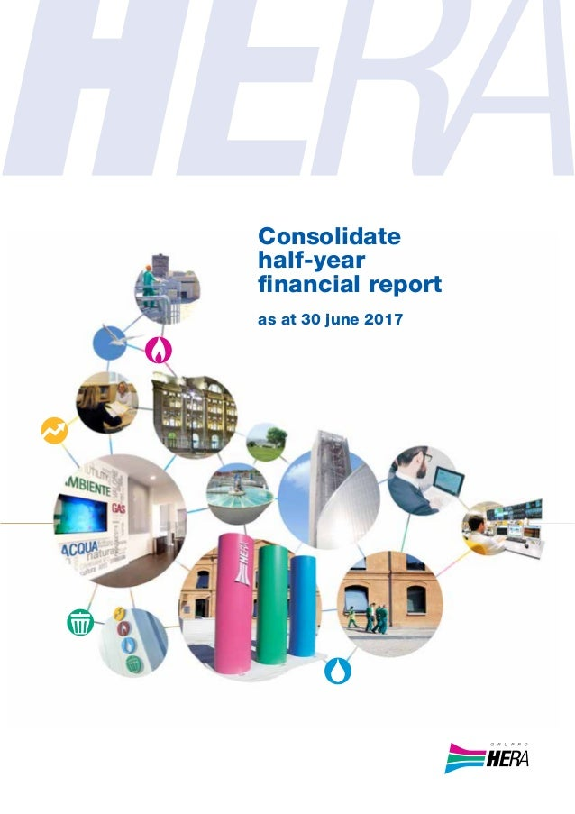 Consolidate half-year financial report as at 30 june 2017