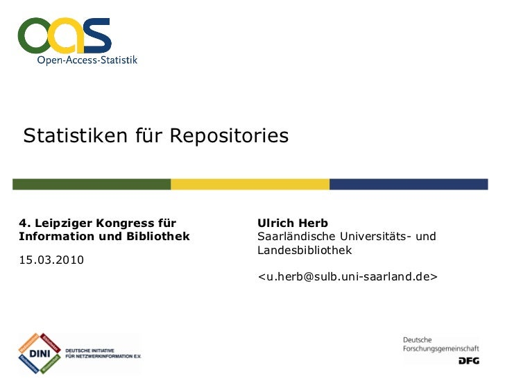 Statistiken für Repositories