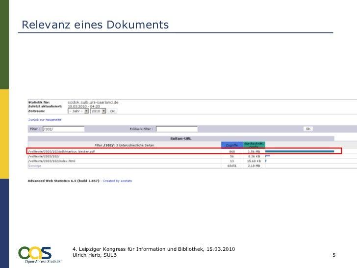 Relevanz eines Dokuments