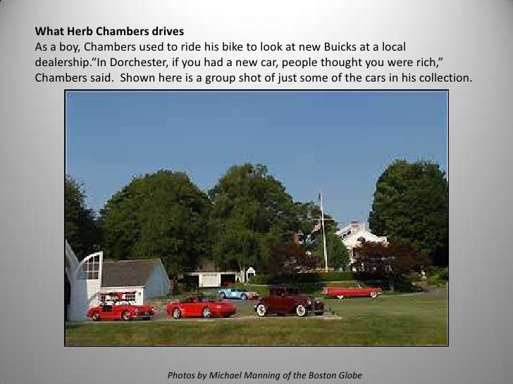 Herb Chambers Cadillac >> What Does Herb Drive at the Herb Chambers Automotive Dealer Group in