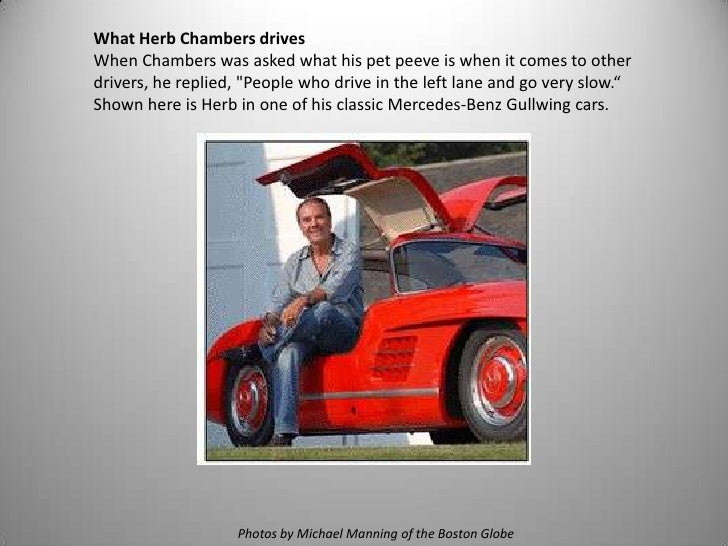 What Does Herb Drive at the Herb Chambers Automotive ...