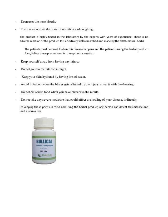 Bullous Pemphigoid Treatment Causes Symptoms Remedy