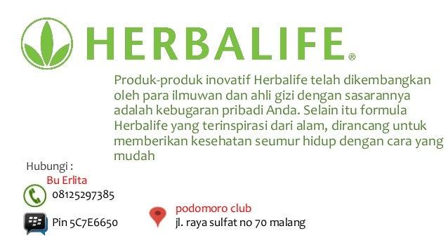 Harga produk herbalife diet