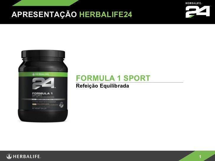 FORMULA 1 SPORT Refeição Equilibrada APRESENTAÇÃO   HERBALIFE24