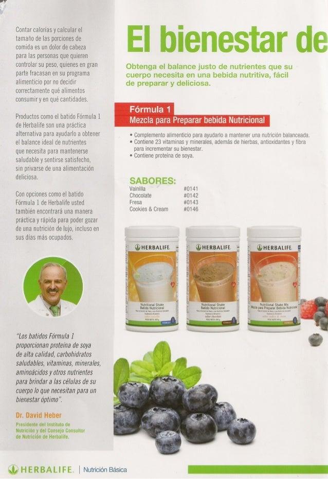 catalogo herbalife