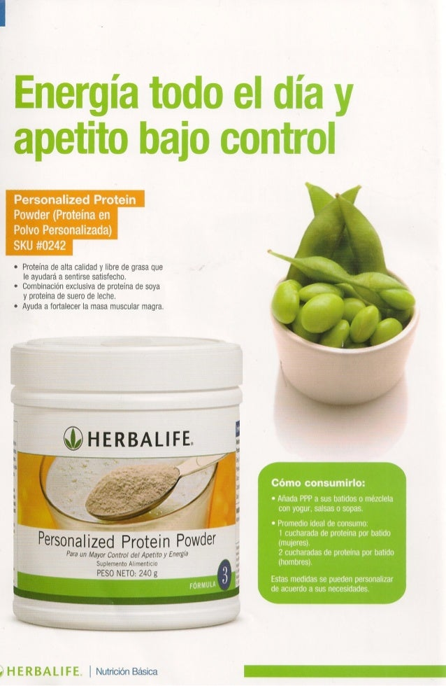 catalogo herbalife