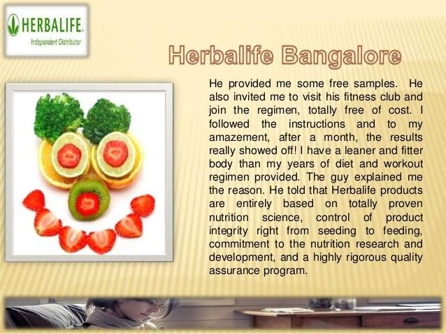 Herbalife distributor bangalore