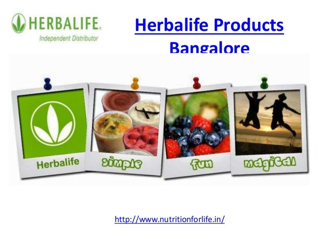 Herbalife products bangalore