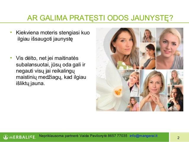 Herbalife+skin išsaugoti jaunyste Slide 2