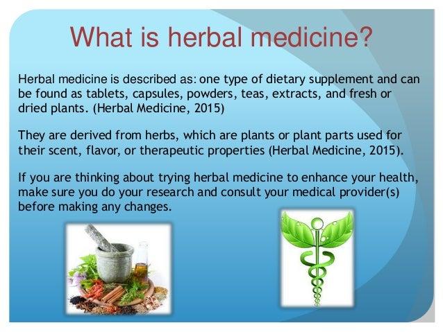 advantages of herbal medicine pdf
