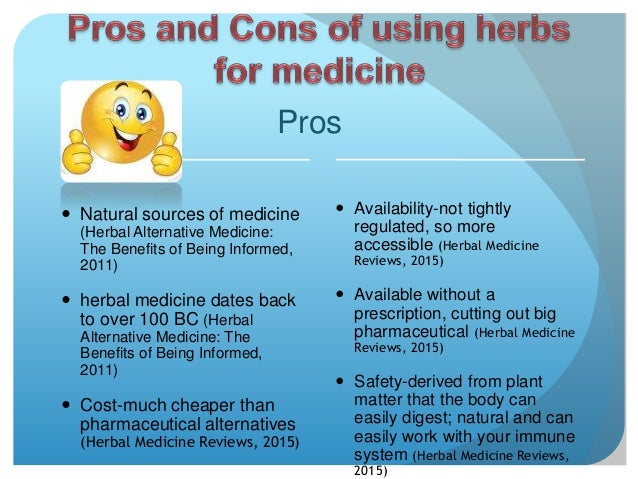 Pros and cons of alternative medicine essay