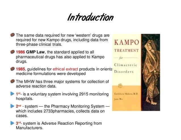 Regulatory situationRegulatory situationRegulatory situationRegulatory situationRegulations for Manufacturing Controland Q...