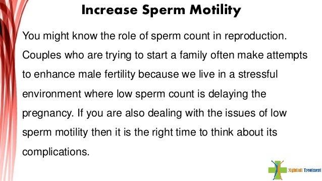 Sperm motility herbal medicine
