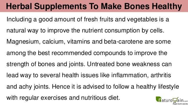Natural Way To Make Bones Stronger