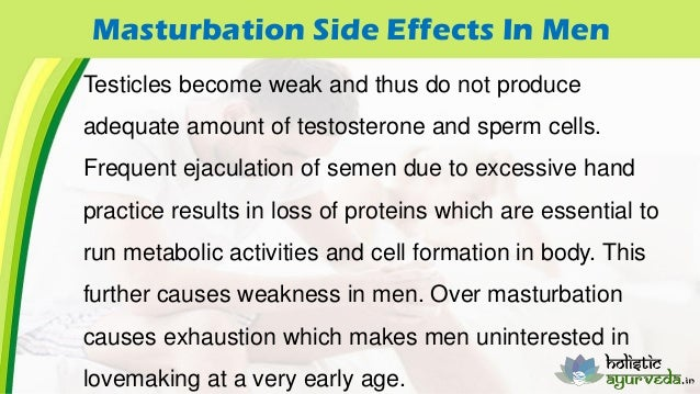 Side effects of excessive masturbation 6