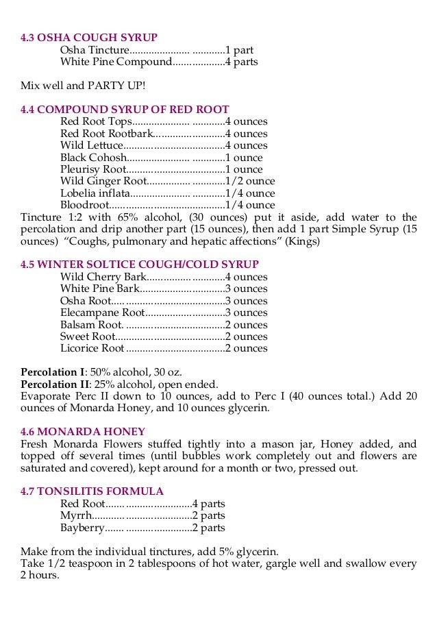 Herb formulas