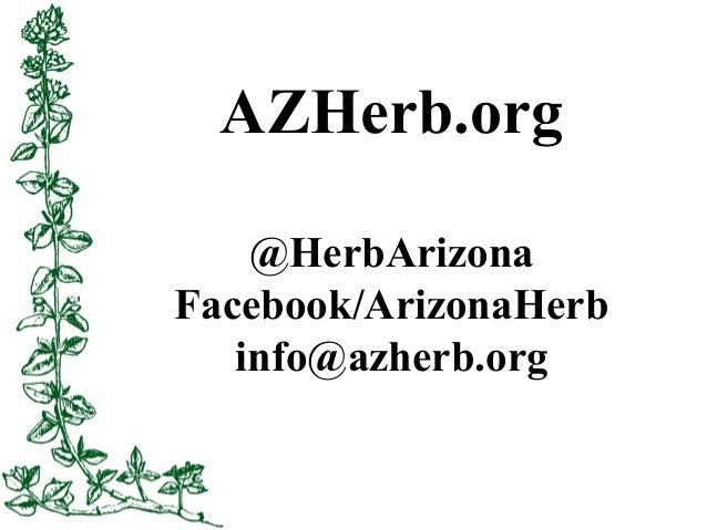 Herb Gardening in the Low Desert Slide 3