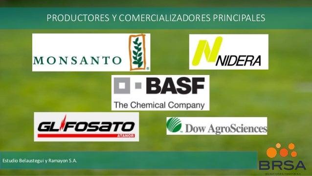 PRODUCTORES Y COMERCIALIZADORES PRINCIPALES Estudio Belaustegui y Ramayon S.A.