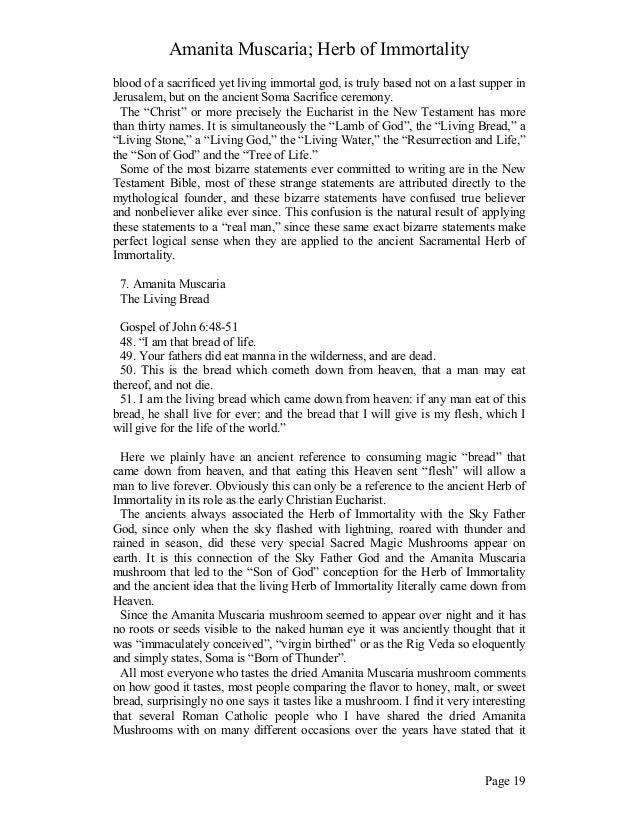 amanita muscaria herb of immortality pdf