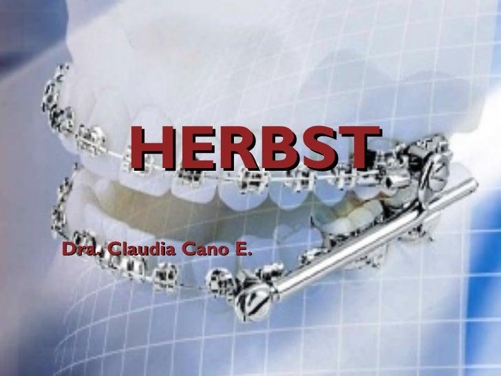 HERBST Dra. Claudia Cano E.