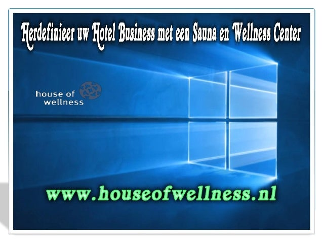 Een Wellness of Spa centrum in uw hotel of vakantieressort kan een dubbel effect hebben op uw bedrijfsresultaat, omdat ste...