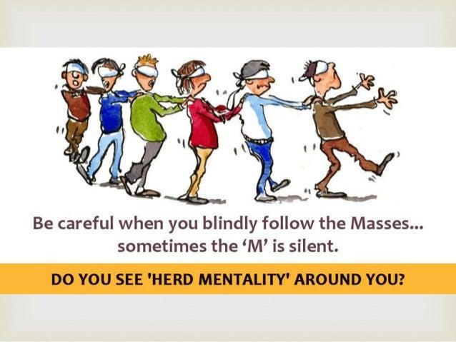 herd mentality essay writer
