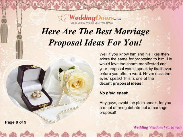 Here are the best marriage proposal ideas for you 9 m4hsunfo