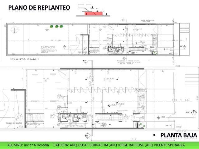 Heredia javier for Programa para planos de viviendas