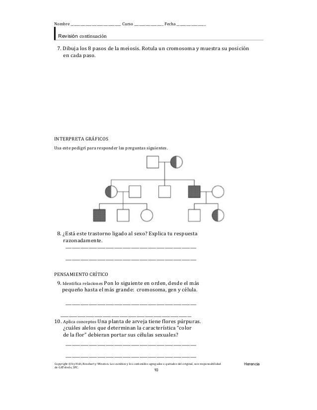 Herencia: guía de trabajo para el desarrollo de habilidades