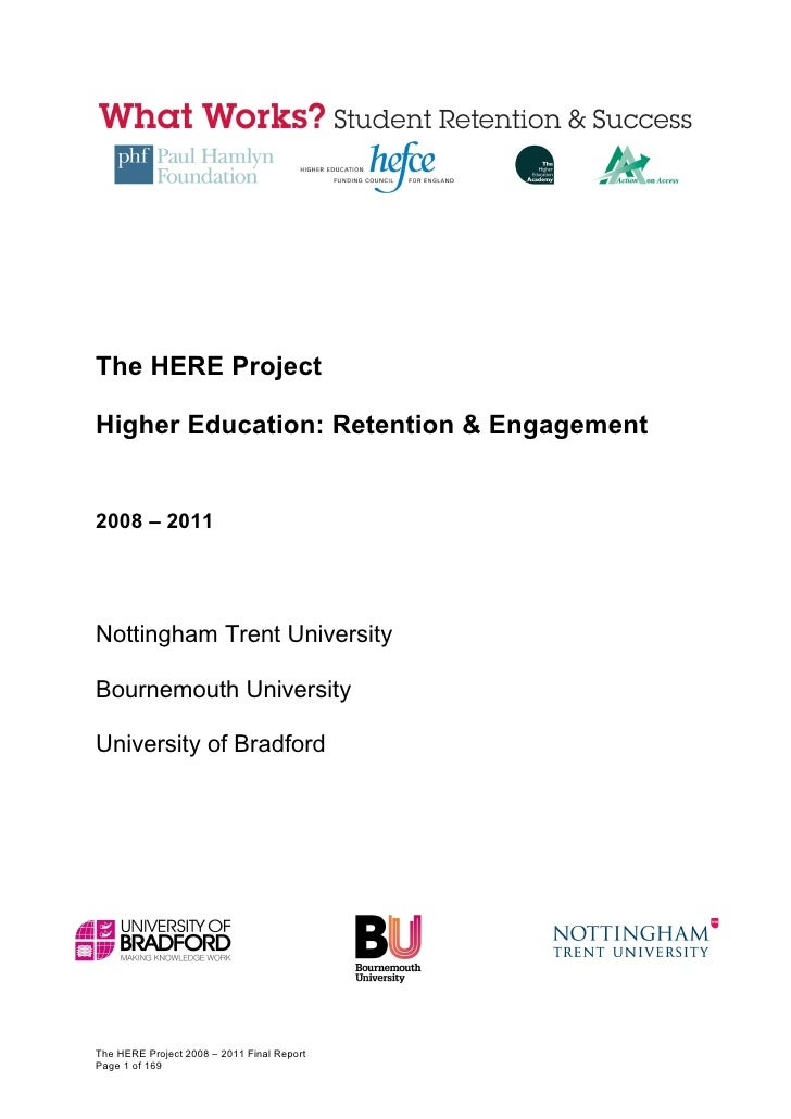 HERE Project Final Report October 2011