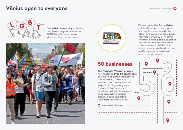 Here with us in Vilnius Vilnius open to everyone The Friendly Vilnius project now features over 50 businesses that have de...