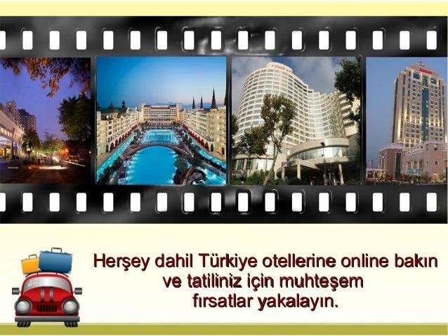 Herşey Dahil Oteller Cazip Tatil Seçimleri Sunuyor Slide 3