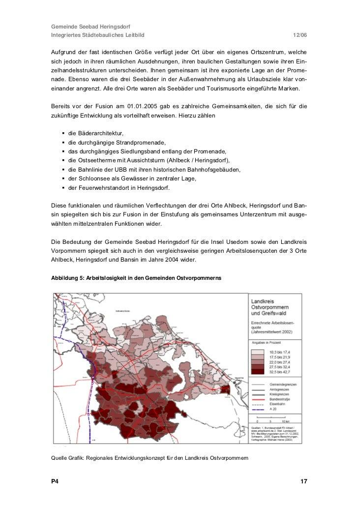 Gemeinde Seebad HeringsdorfIntegriertes Städtebauliches Leitbild                                                12/06Bishe...