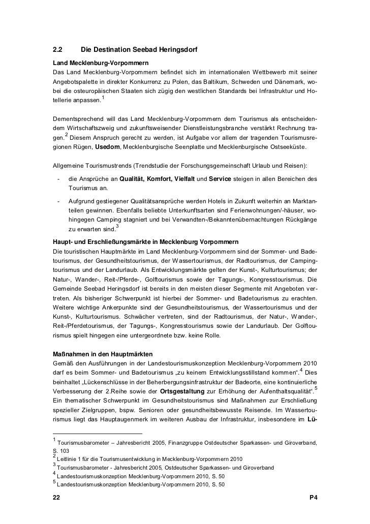 Landkreis OstvorpommernDas Regionale Entwicklungskonzept für den Landkreis Ostvorpommern benennt für die InselUsedom u.a. ...