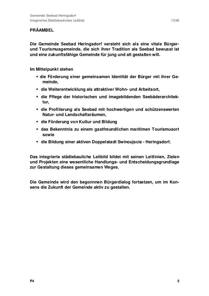 Gemeinde Seebad HeringsdorfIntegriertes Städtebauliches Leitbild                                                    12/061...