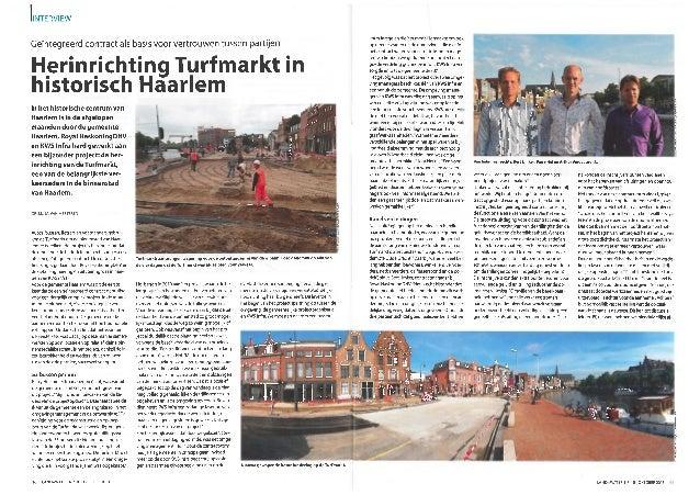 Herinrichting turfmarkt (land+water nr. 10 2013)