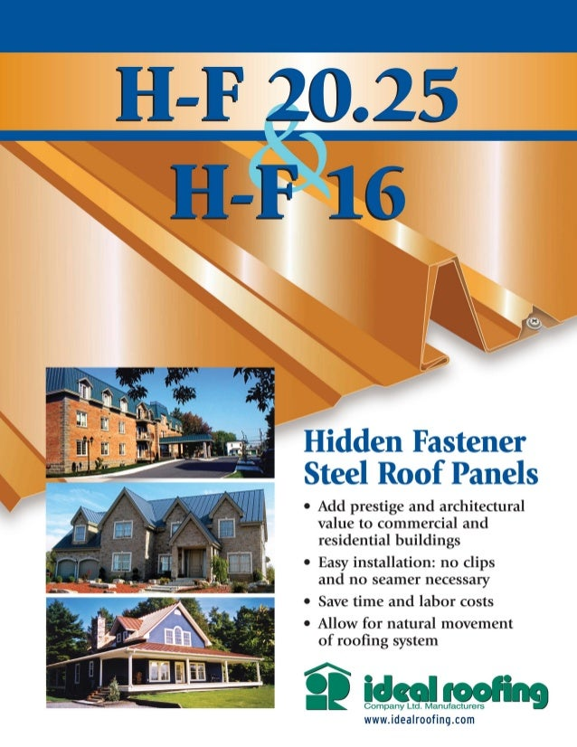 Heritage Standing Seam Roofing Falco Roofing Inc
